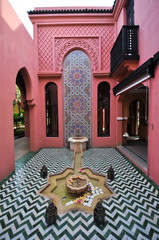 Morocco style building