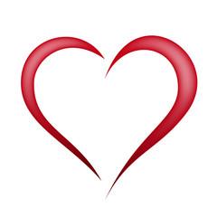 Herz Abstrakt Rot