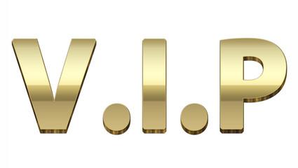 Gold VIP 3D
