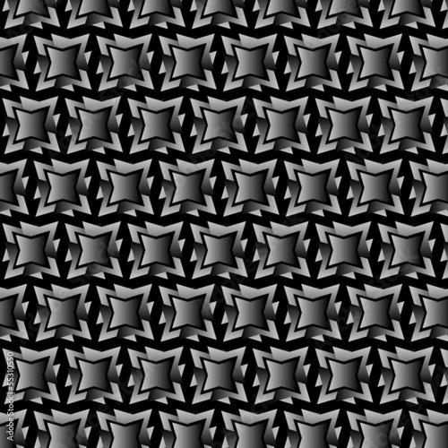 muster geschenkpapier verschachtelte stern in schwarz weiss stockfotos und lizenzfreie. Black Bedroom Furniture Sets. Home Design Ideas