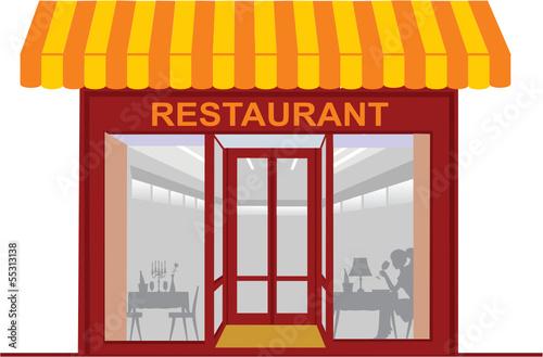 Dessin Restaurant Bar