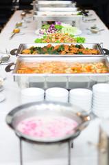 Buffet breakfast theme