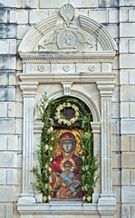 picture in monastery Greek Orthodox Church on Zakynthos island