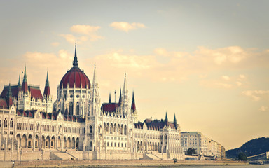Printed kitchen splashbacks Budapest The Parliament of Budapest