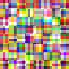 Retro pattern of geometric squares.