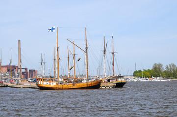 boats in Helsinki