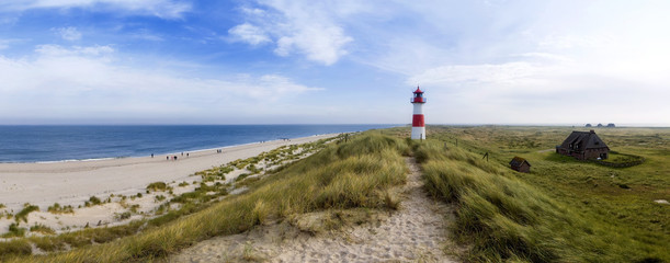 Wall Mural - Sylt am Strand Panorama