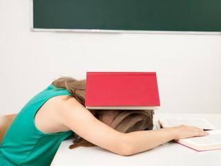 Müdigkeit in der Schule