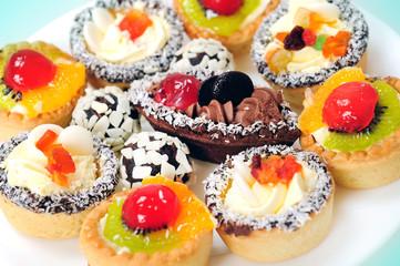 Many cakes