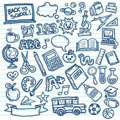 School Vector Doodles