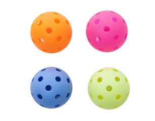 Colored floorballs