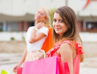 Beautiful Girlfriends Gone Shopping