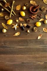 Lemon,aromatherapy supplies and Xmas ornament
