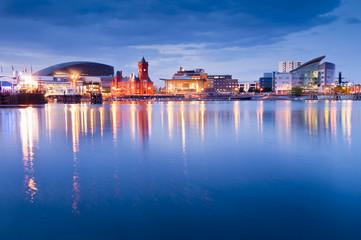 Cardiff Bay Cityscape