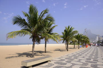 Sidewalk in Ipanema, Rio de Janeiro