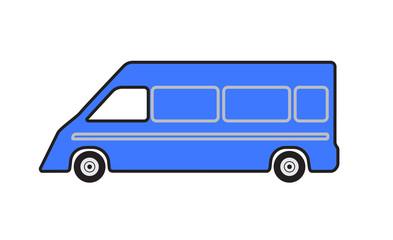 Minibus car.