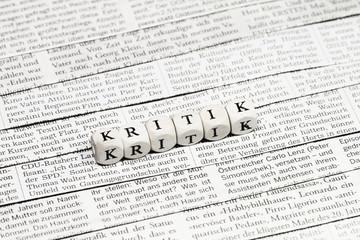 Zeitungskritik