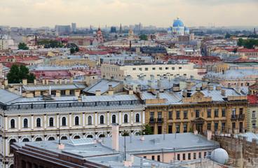 Roofs of St.Petersburg