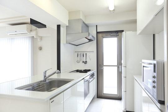マンション、住宅のキッチン