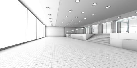 Empty Office.