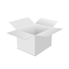 box white open