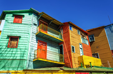 Fotomurales - Bright Colors in Buenos Aires