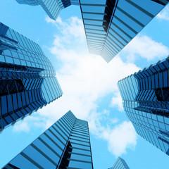 High skyscraper