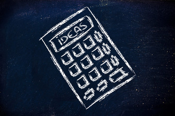 ideas calculator on blackboard