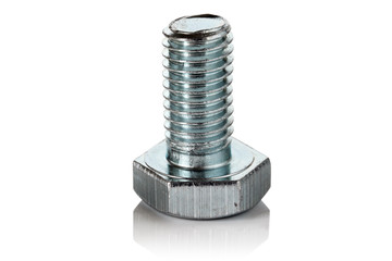 Steel bolt.