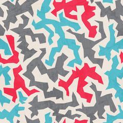 urban seamless pattern with grunge effect