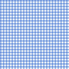 Blue And White Tablecloth Seamless Pattern