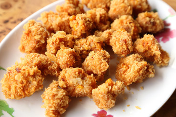 fried meat ball