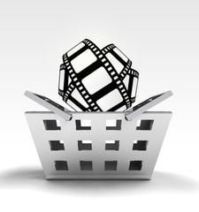 movie tape as trade merchandise