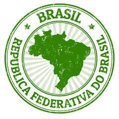 Brasil stamp