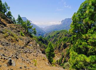 Caldera de Taburiente National Park on La Palma
