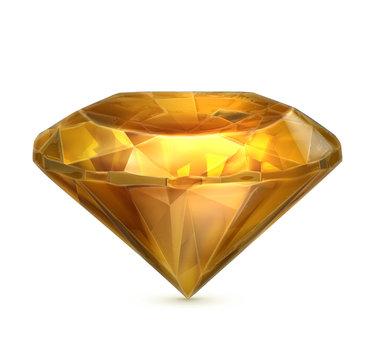 Amber yellow icon