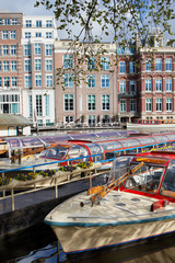 Cruise Boats in Amsterdam