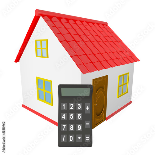 House Calculator Stock Photo And Royalty Free Images On