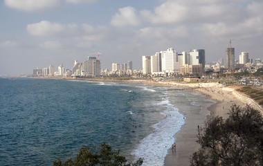 Tel-Aviv beach and coastline, Israel