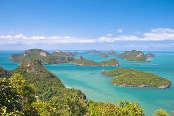 Angthong national marine park close to Koh Samui