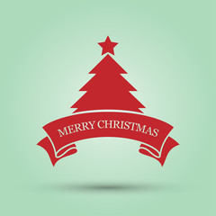 Merry Christmas, Vector illustration.