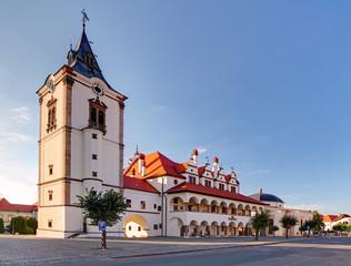 Stores à enrouleur Europe de l Est Old Town Hall in Levoca town - Slovakia
