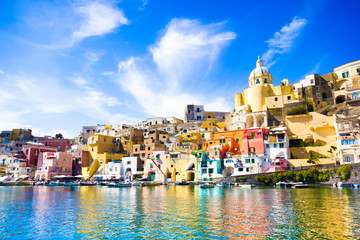 Photo sur Plexiglas Naples Procida, Island in Italy
