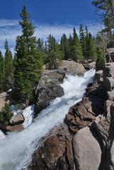 Wall Mural - Alberta falls, Rocky Mountain National Park, CO, USA