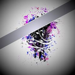 Abstract grunge design background