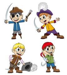 Cheerful pirates