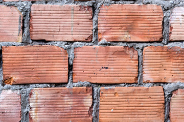 Ziegelwand - Brick wall