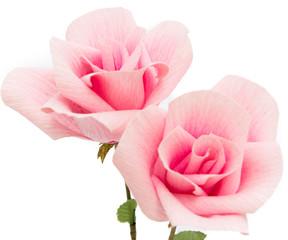 Art design pink Rose paper