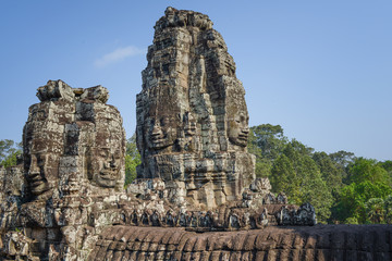 Angkor Thom: Temple of Bayon