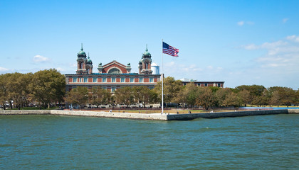 Immigration museum on Ellis Island, New York